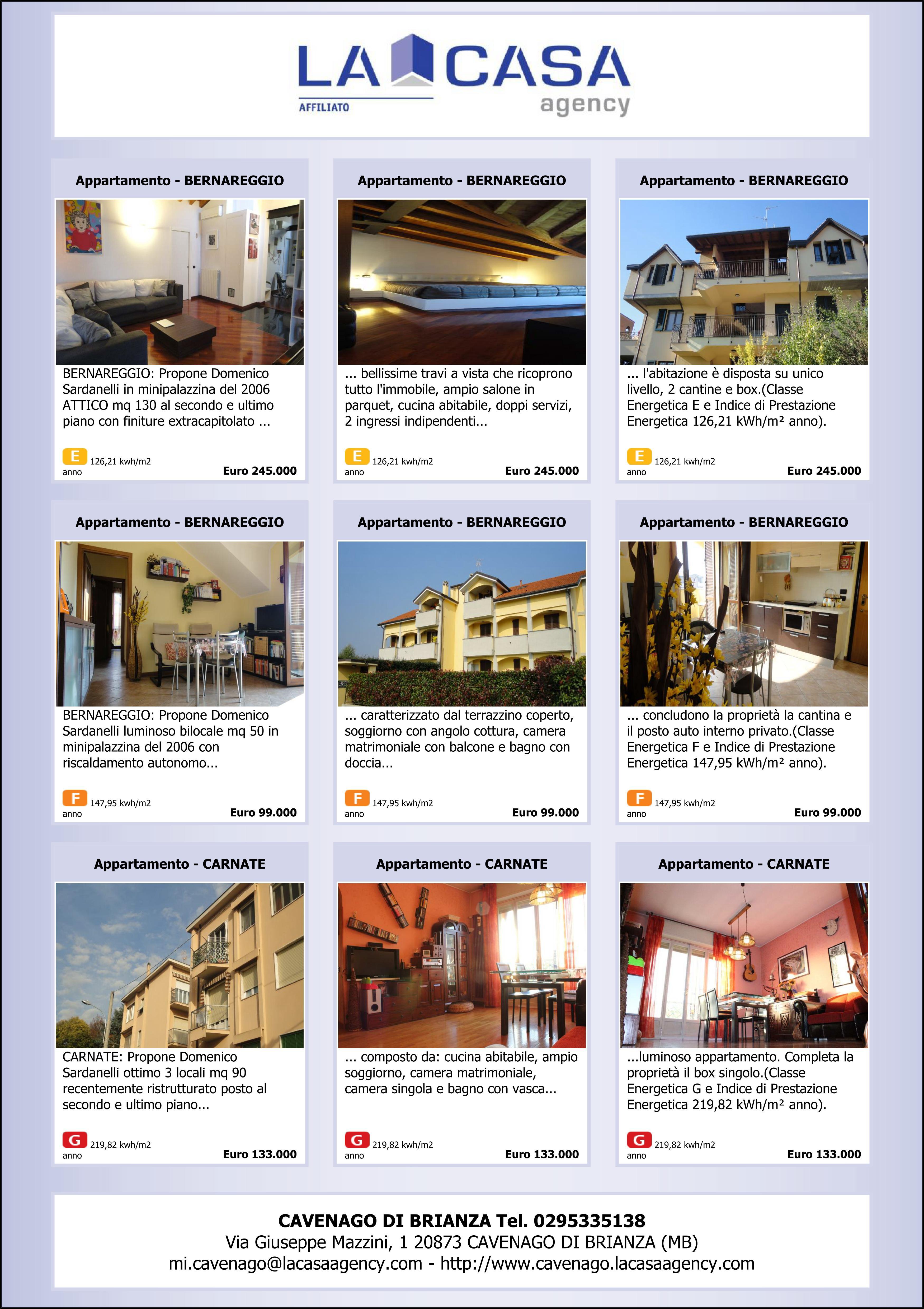 Abbiamo una casa da dirti 11 02 2013 case ville attici in vendita a milano brianza e liguria - Calcolo imposte acquisto seconda casa ...