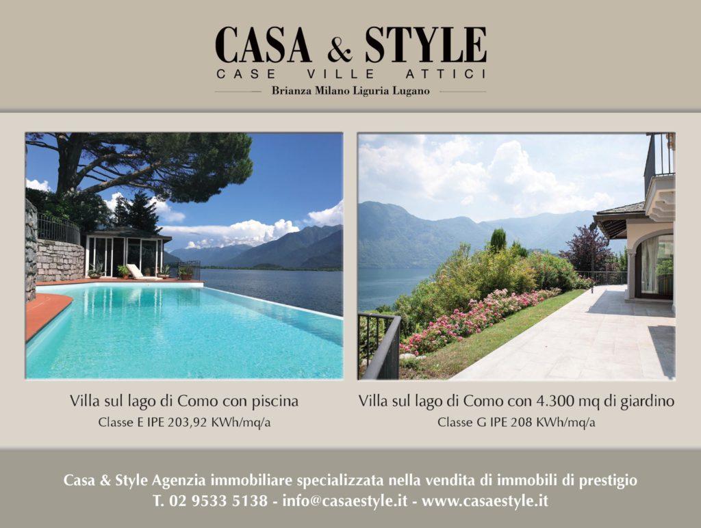 Ville di prestigio in vendita sul lago di como trovo casa for Casa corriere della sera